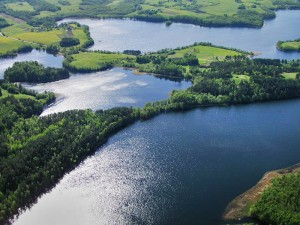 """Baluošo ežero Ilgasalės salos ežerėlis """"Baluošo akis"""""""
