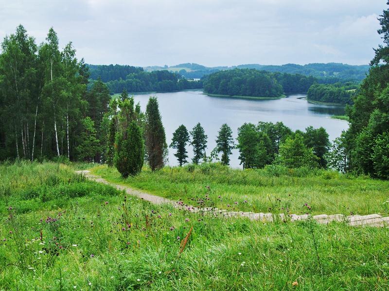 Ūkojo ežeras nuo ladakalnio